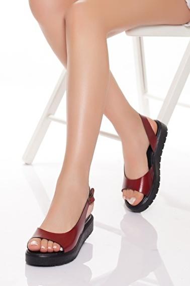 MODAGON Sandalet Kırmızı